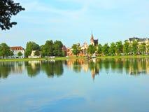 De Kathedraal van Schwerin Stock Afbeelding