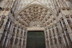 De kathedraal van Sevilla Stock Foto