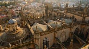 De kathedraal van Sevilla Stock Afbeelding