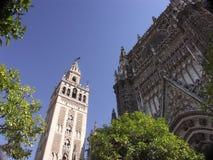 De Kathedraal van Sevilla Stock Fotografie