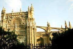 De Kathedraal van Sevilla royalty-vrije stock afbeelding