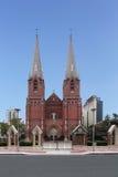 De Kathedraal van Shanghai Xujiahui Stock Foto's