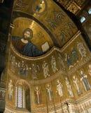 De kathedraal van Sicilië Monreale   Stock Afbeeldingen