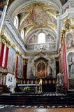 De Kathedraal van Sinterklaas in Ljubljana, Slovenië Royalty-vrije Stock Afbeeldingen