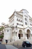 De Kathedraal van Sinterklaas, Monaco royalty-vrije stock afbeeldingen