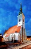 De kathedraal van Slowakije - van Bratislava stock foto's