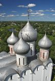 De kathedraal van Sofia in Vologda Royalty-vrije Stock Foto