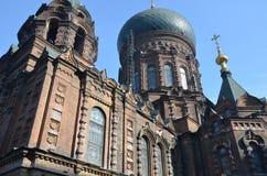 De Kathedraal van Sophia Stock Afbeelding