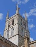 De Kathedraal van Southwark stock foto
