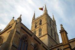De Kathedraal van Southwark Stock Foto's