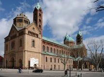 De Kathedraal van Speyer Royalty-vrije Stock Fotografie