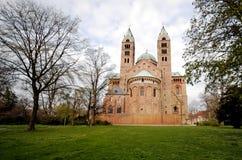De Kathedraal van Speyer royalty-vrije stock foto