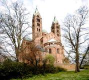 De Kathedraal van Speyer Royalty-vrije Stock Afbeeldingen