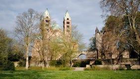 De Kathedraal van Speyer Stock Fotografie