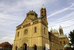 De Kathedraal van Speyer Stock Foto's