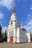 De Kathedraal van St Aartsengel Michael in Sotchi in het Zuiden Royalty-vrije Stock Fotografie
