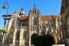 De Kathedraal van St Elisabeth in Kosice stock foto