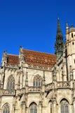 De Kathedraal van St Elisabeth in Kosice stock afbeelding