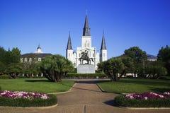 De Kathedraal van St.Louis Stock Afbeeldingen