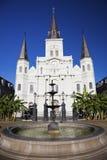 De Kathedraal van St.Louis Stock Foto