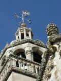 De kathedraal van St Marco in Korcula-stad in Kroatië Stock Fotografie