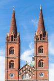 De Kathedraal van St Peter - Kroatië Royalty-vrije Stock Afbeeldingen