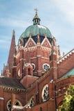 De Kathedraal van St Peter - Kroatië royalty-vrije stock fotografie