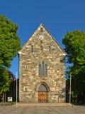 De kathedraal van Stavanger van heilige Swithun stock fotografie
