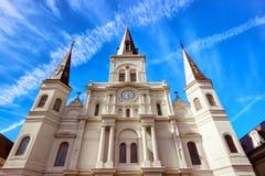 De Kathedraal van StLouis Stock Afbeeldingen