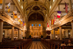De Kathedraal van StLouis royalty-vrije stock afbeeldingen