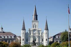 De Kathedraal van StLouis - New Orleans Stock Afbeelding