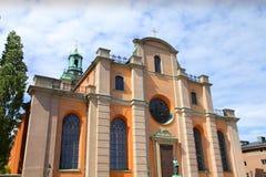 De kathedraal van Stockholm royalty-vrije stock foto's