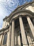 De Kathedraal van StPaul, Londen, het Verenigd Koninkrijk royalty-vrije stock foto's