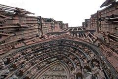 De kathedraal van Straatsburg Stock Foto