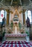 De Kathedraal van Sumuleu in Roemenië Stock Foto