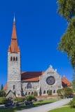 De Kathedraal van Tampere Stock Afbeelding