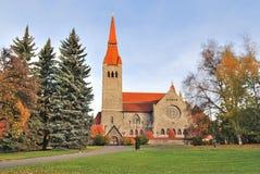 De kathedraal van Tampere, Finland stock foto's