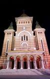 De kathedraal van Timisoara Stock Afbeeldingen