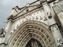 De Kathedraal van Toledo Stock Afbeelding