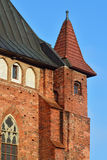 De Kathedraal van torenkoenigsberg Kaliningrad, Rusland stock fotografie