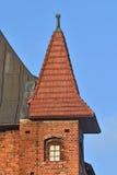 De Kathedraal van torenkoenigsberg Kaliningrad, Rusland stock afbeelding