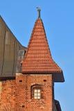 De Kathedraal van torenkoenigsberg Kaliningrad, Rusland royalty-vrije stock foto