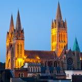 De Kathedraal van Truro Stock Afbeelding