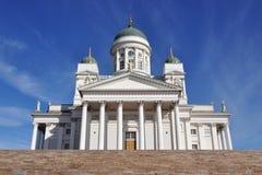De kathedraal van Tuomiokirkko, Helsinki, Finland Stock Foto