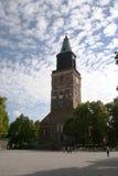 De Kathedraal van Turku Stock Afbeeldingen