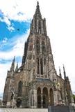 De Kathedraal van Ulm Stock Foto