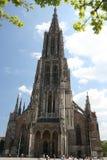 De kathedraal van Ulm, Duitsland Stock Foto