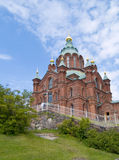 De Kathedraal van Uspenski, Helsinki royalty-vrije stock afbeeldingen