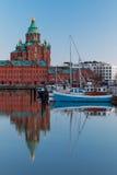 De Kathedraal van Uspenski, Helsinki, Finland Stock Afbeelding
