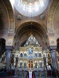 De Kathedraal van Uspensky in Helsinki Stock Foto